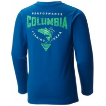 Youth Boy's Pfg Fish N' Hook Long Sleeve by Columbia