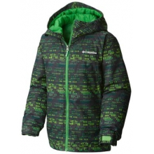 Boy's Wrecktangle Insulated Hooded Jacket by Columbia