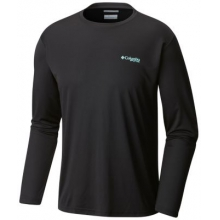 Men's Terminal Tackle PFG Triangle Long Sleeve Shirt by Columbia in Charlotte Nc