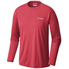 Men's Terminal Tackle PFG Triangle LS Shirt by Columbia in Red Deer Ab