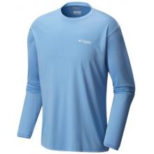 Men's Terminal Tackle PFG Triangle LS Shirt by Columbia in Birmingham Al