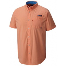 Men's Harborside Woven Short Sleeve Shirt by Columbia