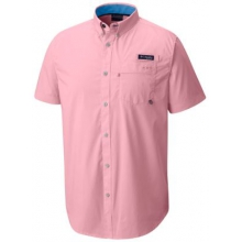 Men's Harborside Woven Short Sleeve Shirt by Columbia in Huntsville Al