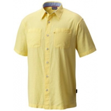 Men's Harborside Linen  Camp Shirt by Columbia in Arcadia Ca