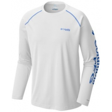 Men's Terminal Tackle Zero Long Sleeve Shirt by Columbia in Uncasville Ct