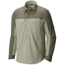 Men's Silver Ridge Blocked Long Sleeve Shirt by Columbia