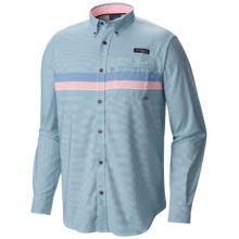 Men's Super Harborside Woven Ls Shirt by Columbia