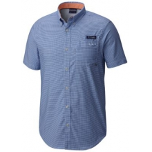 Men's Super Harborside Woven Short Sleeve Shirt by Columbia