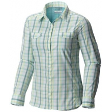 Women's Silver Ridge Lite Plaid Long Sleeve Shirt by Columbia in Iowa City Ia