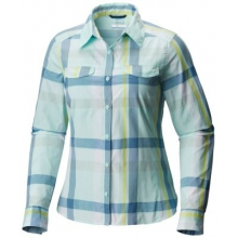 Women's Silver Ridge Lite Plaid Long Sleeve Shi by Columbia in Burbank Ca