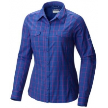 Women's Silver Ridge Lite Plaid Long Sleeve Shi by Columbia in Sylva Nc