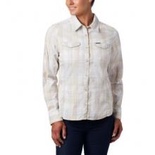 Women's Silver Ridge Lite Plaid LS Shirt by Columbia in Medicine Hat Ab