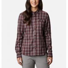 Women's Silver Ridge Lite Plaid Ls Shirt by Columbia in Lakewood CO
