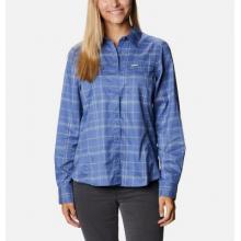 Women's Silver Ridge Lite Plaid Ls Shirt by Columbia in Greenwood Village CO