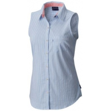 Women's Super Harborside Woven Sleeveless Shirt by Columbia in Marietta Ga