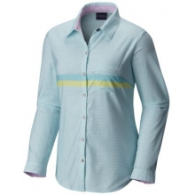 Women's Super Harborside Woven Ls Shirt by Columbia