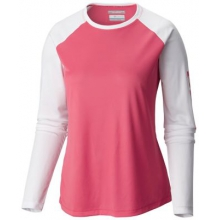 Women's Extended Tidal Tee II Long Sleeve by Columbia