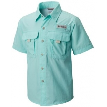Boy's Bahama Short Sleeve Shirt by Columbia in Madison Al