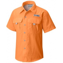 Boy's Bahama Short Sleeve Shirt by Columbia