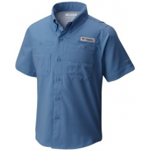 Boy's Tamiami Short Sleeve Shirt by Columbia