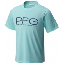 Boy's PFG Hooks Short Sleeve Tee by Columbia in Charleston Sc