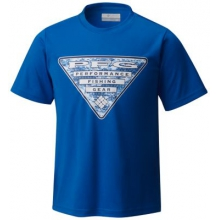 Boy's PFG Triangle Digicamo Tee by Columbia