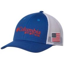 Unisex Pfg Mesh Snap Back Ball Cap by Columbia in Alpharetta Ga
