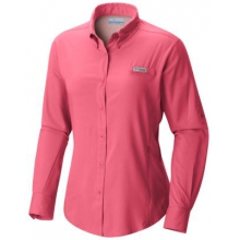 Womens Tamiami II LS Shirt by Columbia in Delray Beach Fl