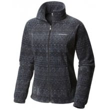 Women's Benton Springs Print Full Zip by Columbia
