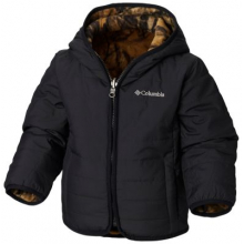 Youth Unisex Toddler Double Trouble Jacket by Columbia in Red Deer Ab