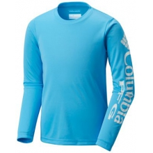 Boy's Terminal Tackle Long Sleeve Tee by Columbia in Madison Al