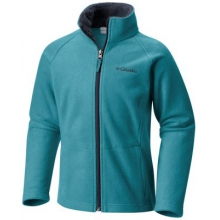 Youth Girl's Dotswarm II Fleece Full Zip by Columbia