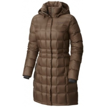 Women's Hexbreaker Long Down Jacket by Columbia