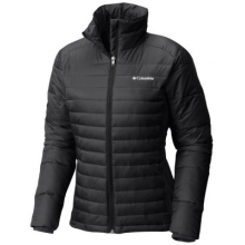 Women's Extended Powder Pillow Hybrid Jacket by Columbia