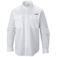 Men's Extended Blood And Guts III Ls Woven Shirt by Columbia