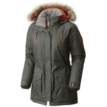 Women's Extended Barlow Pass 550 Turbodown Jacket by Columbia in Burbank CA