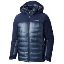 Men's Heatzone 1000 Turbodown Hooded Jacket by Columbia