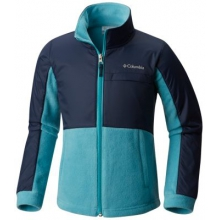 Girl's Benton Springs III Overlay Fleece by Columbia in Burnaby Bc