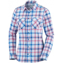 Women's Saturday Trail Plaid Long Sleeve Shirt by Columbia