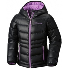 Girl's Gold 550 Turbodown Hooded Down Jacket by Columbia