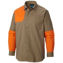 Men's Ptarmigan Briar Shooting Shirt by Columbia