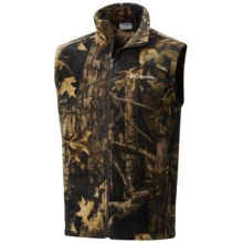 Men's Steens Mountain Printed Vest by Columbia
