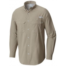 Men's Cast Away Zero Woven Long Sleeve Shirt by Columbia