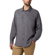 Men's Extended Silver Ridge Lite Long Sleeve Shirt by Columbia in Boulder CO