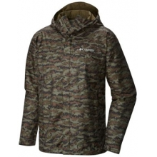 Men's Extended Watertight Printed Jacket by Columbia