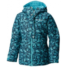 Girl's Snowcation Nation Jacket by Columbia in Spruce Grove Ab