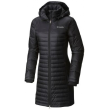 Women's Powder Pillow Hybrid Long Jacket by Columbia