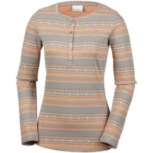 Women's Hood Mountain Lodge Jacquard Henley by Columbia in Anchorage Ak