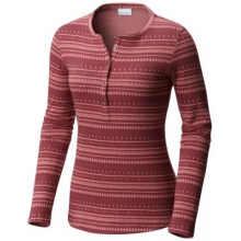 Women's Hood Mountain Lodge Jacquard Henley by Columbia in Vernon Bc
