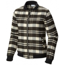 Women's Alpine Plaid Bomber by Columbia